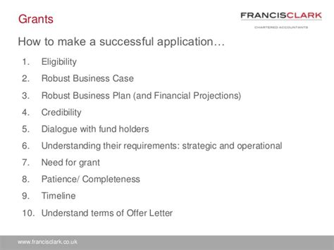 How To Make An Application by How To Make An Application For Grant Funding