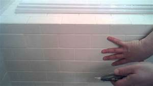 Jetted tub access panel removal youtube for Tiled access panels bathroom