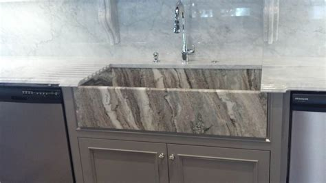 fantasy brown miami circle marble fabrication