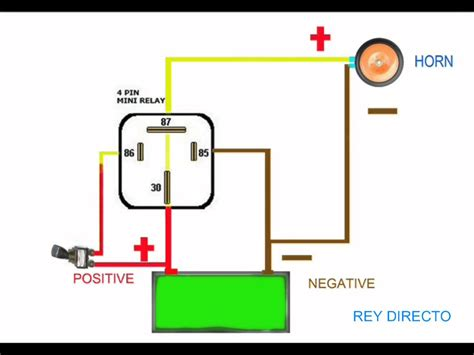 horn wiring diagram wellread me