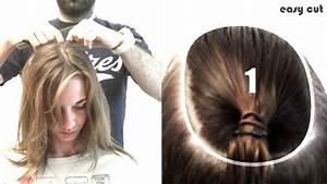 Comment Faire Un Carré Plongeant : comment couper ses cheveux en carre plongeant en 5mn pro youtube ~ Dallasstarsshop.com Idées de Décoration