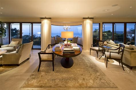 la jolla luxury family room    robeson design san diego interior designers