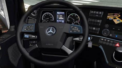 mercedes interior actros truck euro mod simulator sports ets2 v0 mods benz ets interiors