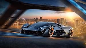 Lamborghini apresenta conceito com tecnologias para 2040