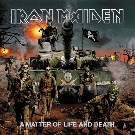 album review iron maiden  matter  life  death