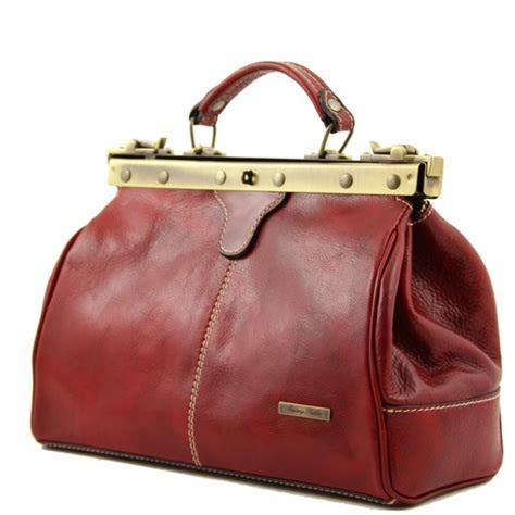 Sac Cuir Retro Femme   Tuscany Leather