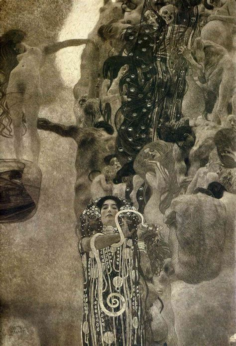 Klimt Of Vienna Ceiling Paintings by Of Vienna Ceiling Paintings Medicine