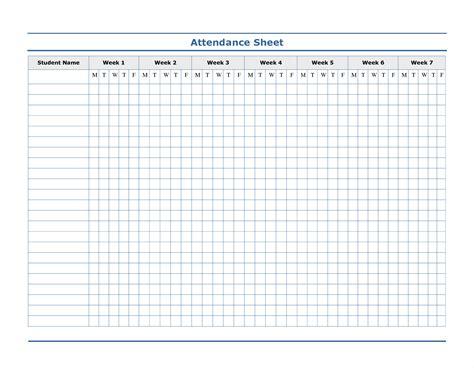 attendance template attendance sign in sheet exle mughals
