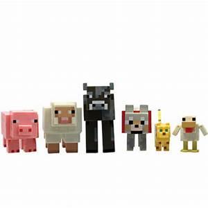 Echte Jazwares Minecraft Figuren Set Kampfbildschirm Tier