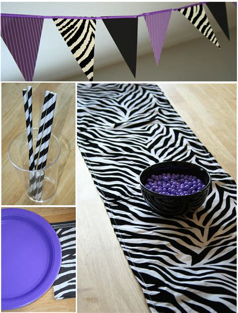 Decorating Ideas Zebra Print Birthday by 35 Trendy Baby Shower Theme Table Runners Table