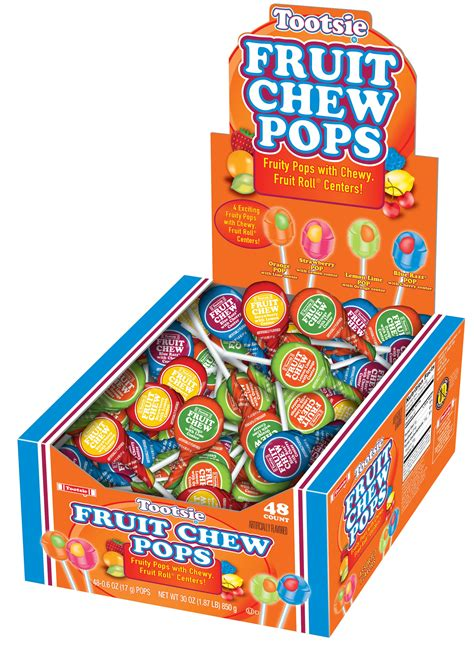 Tootsie Roll Fruit Chew Pops | All Distributed Items ...