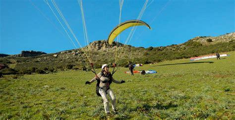 Accueil Più Altu Parapente en Haute Corse