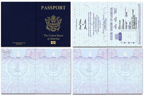 Passport Picture Template by Us Blank Passport Template Invitation Templates