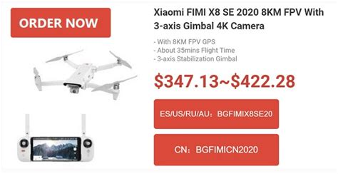 coming  fimi xse   quadcopter