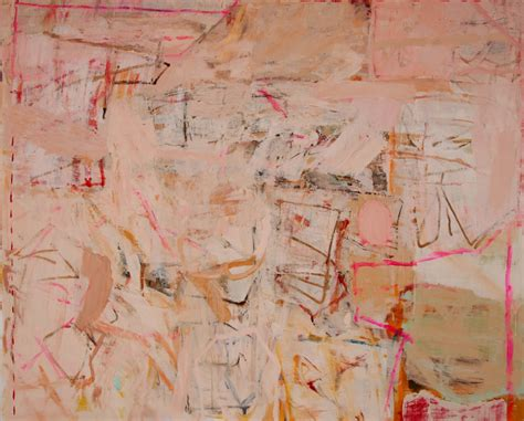 pink abstract  vered gersztenkorn artfully walls