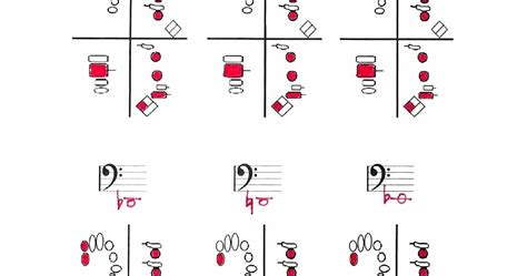 Bassoon And Contrabassoon Fingering Chart