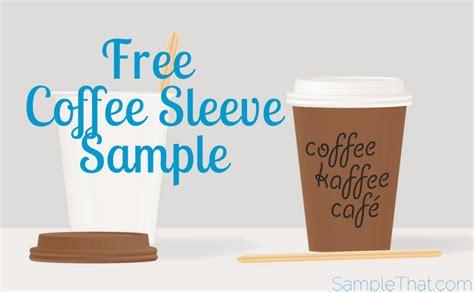 Free Coffee Sleeve Sample Hot Coffee In Japanese Blender Community Uk Burnt Tongue Kettle Nalgene Intelligentsia Discount Code Pump Dispenser