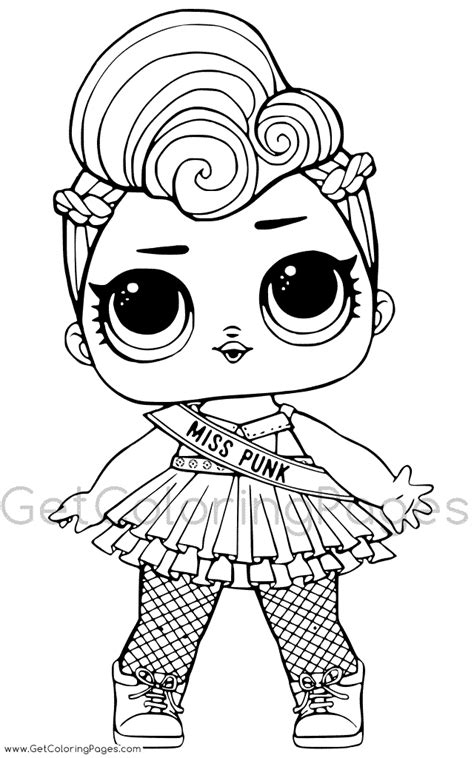 lol surprise series  coloring page  coloring pages