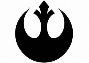 Star Wars Rebel Alliance Logo Decal by NerdVinyl on Etsy