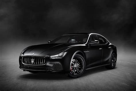 """Limited To 450 Units Maserati Ghibli """"nerissimo"""" Unveiled"""