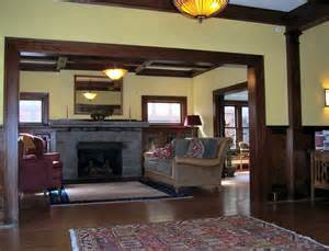 Craftsman Bungalow Style Home Interior