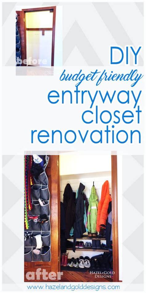 diy entryway closet renovation