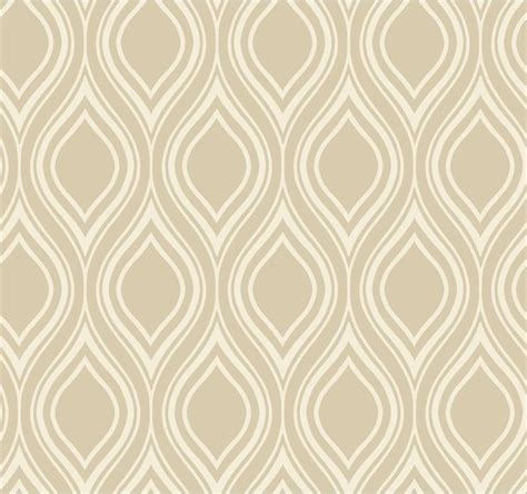 ogee beige wallpaper