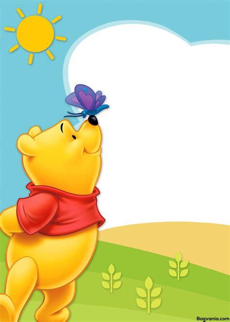 printable winnie  pooh birthday invitation wording