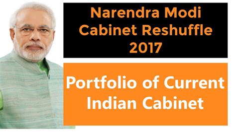 List Of Current Cabinet Ministers by List Of Reshuffled Indian Ministers 2017 Portfolio Of