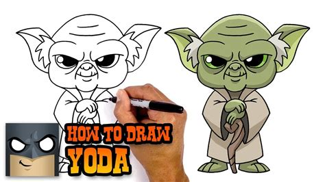 How to Draw Yoda | Star Wars - YouTube