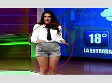 Weather girl Lluvia Carrillo reveals THIS wardrobe
