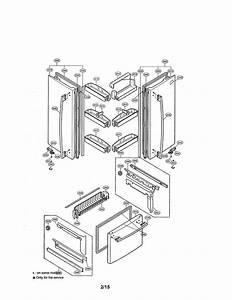 Doors Diagram  U0026 Parts List For Model Lfc25760sb Lg