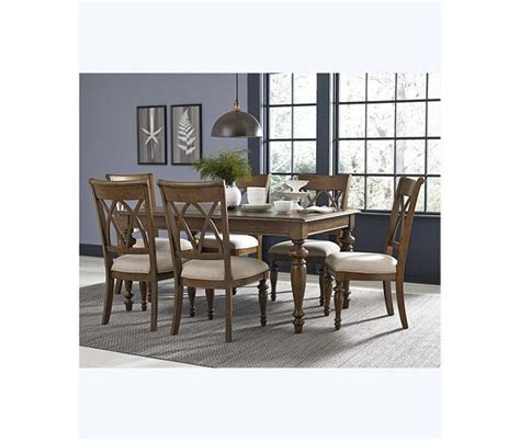 oak harbor 5 pc dining set table 4 side chairs