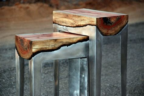 Cool Furniture From Wood And Metal Of Hilla Shamia
