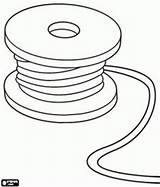 Coloring Wire Cable Pages Spool Reel Tools Designlooter Utensils Games Chase Printable Tape Measure 1kb 276px Oncoloring sketch template