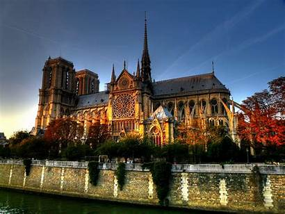 Dame Notre Paris Wallpup