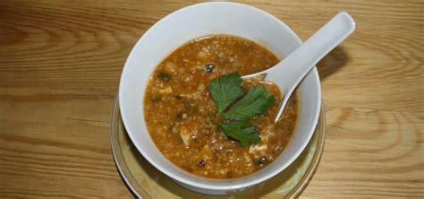 cuisine recette poisson chorba au poisson recette de chorba frik tunisienne