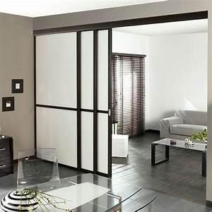 Porte Coulissante Grande Largeur : cloison lapeyre salon pinterest lapeyre cloisons ~ Dailycaller-alerts.com Idées de Décoration
