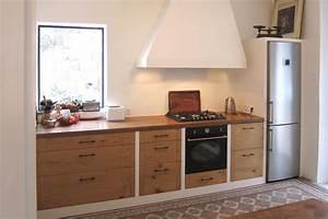 cuisine en chene massif rustique hegenbart With cuisine en chene