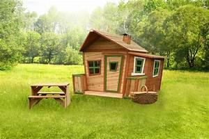 Kinder Holzhaus Garten : holz kinderspielhaus comicstil gartenspiel geschlossen farbig lasiert b 170cm spielhaus ~ Frokenaadalensverden.com Haus und Dekorationen