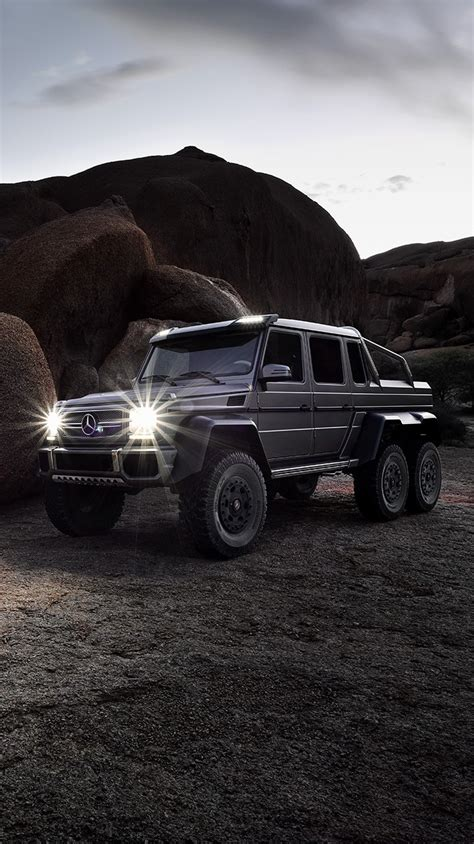mercedes benz  amg   desert canyon rocks iphone