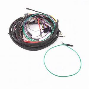 Ihc  Farmall 966  1066  1466 Diesel  Early  Main Wire