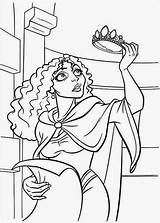 Tangled Coloring Pages Gothel Mother Rapunzel Printable Pascal Flynn Print Maximus Filminspector Getcolorings sketch template