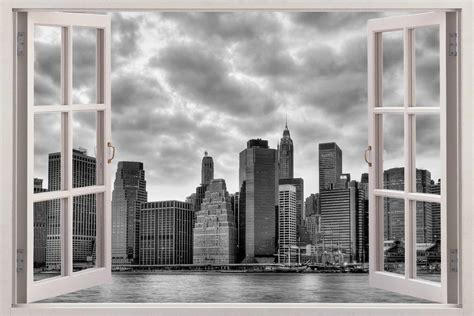 New York 3d Window View Decal Wall Sticker Home Decor Art. Cheap Room Decorations. Ymca Rooms For Rent. Christian Wall Decor. Entry Door Decor. Decorative Iron. Coastal Decor Shop. Home Decor Site. Rustic Living Room Tables