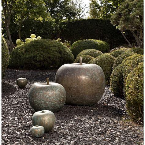 Foundry Bronze Apple Sculpture
