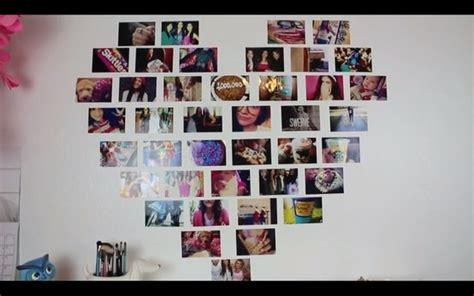 diy heart photo collage macbarbie art pinterest