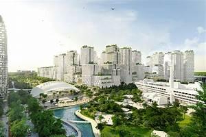 Masterplan for Jurong Lake District Singapore unveiled ...