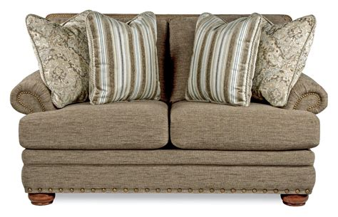 Traditional Sofas And Loveseats by Brennan Traditional Loveseat With Comfort Cushions