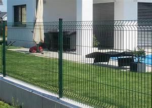 Panneaux Rigide Pour Cloture : panneaux grillages rigides portails cl tures grillag s ~ Edinachiropracticcenter.com Idées de Décoration