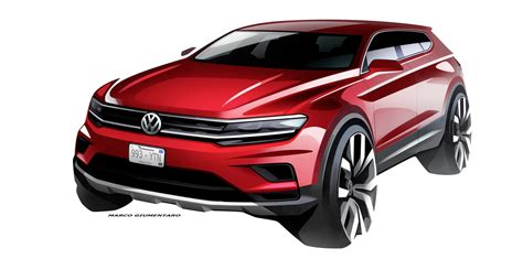Vw Teases 7-seat Tiguan Allspace Ahead Of Detroit Auto Show